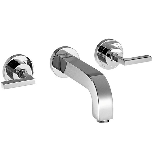 Double Handle Wall Mounted Tub Spout Trim by Axor Axor
