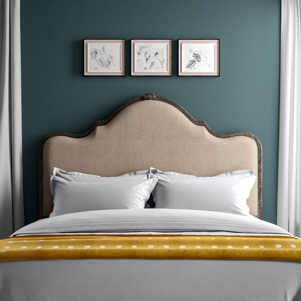 Saltville Upholstered Panel Headboard by Greyleigh
