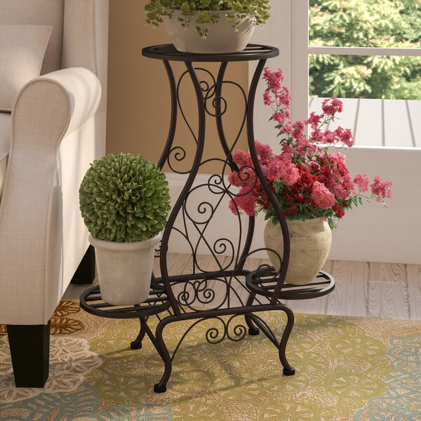 Black Cloister Etagere Plant Stand by Andover Mills