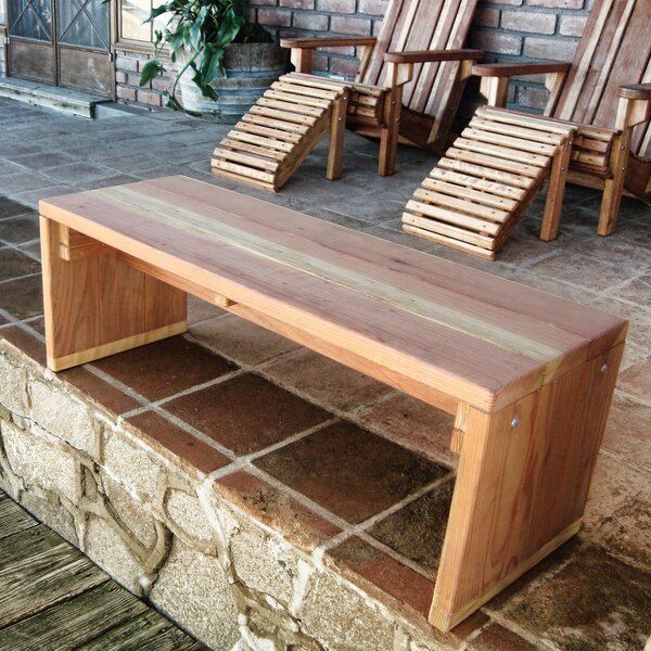 Montserrat Wooden Pinic Bench by Rosecliff Heights Rosecliff Heights