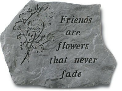Friends are Flowers Stepping Stone by Kay Berry, Inc