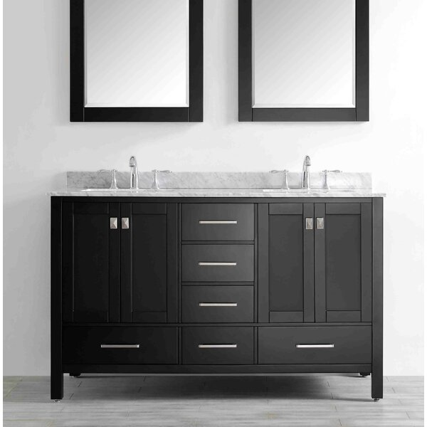Pichardo 60 Double Bathroom Vanity Set by Brayden Studio