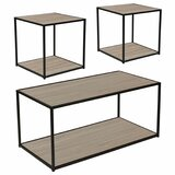 Wilfred 3 Piece Coffee Table Set by Ebern Designs