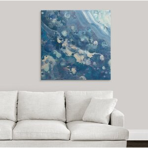 Water III by Albena Hristova Painting Print on Wrapped Canvas by Great Big Canvas