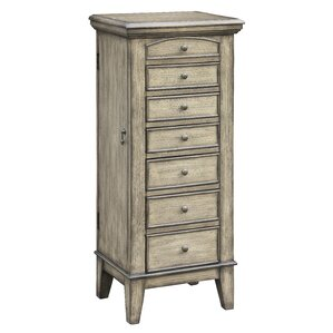 Dan Free Standing Jewelry Armoire by A..