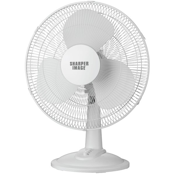16 Oscillating Table Top Fan by Sharper Image