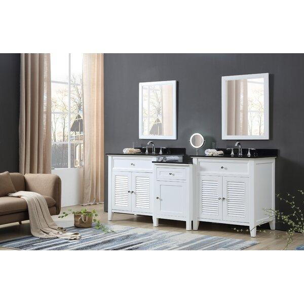 Cabrera 82 Double Bathroom Vanity Set