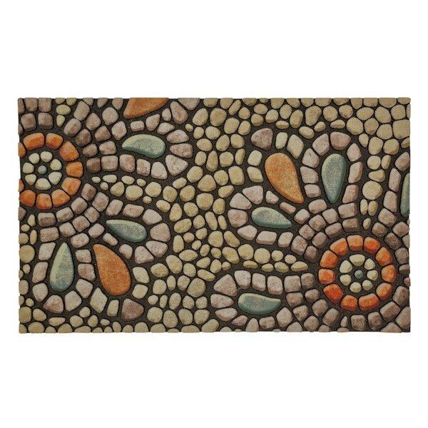 Gullette Bohemian Pebble Light Doormat by Red Barrel Studio