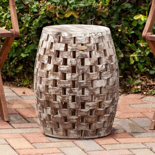 Pleasant Big Save Ballendat Garden Stool By World Menagerie Find A Andrewgaddart Wooden Chair Designs For Living Room Andrewgaddartcom