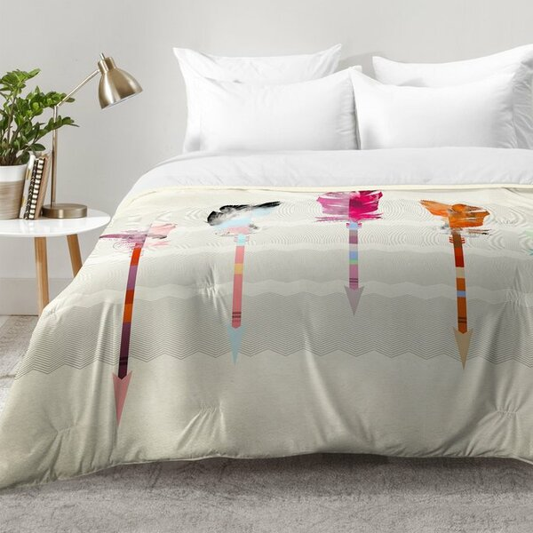 Feathered Arrows Comforter Set