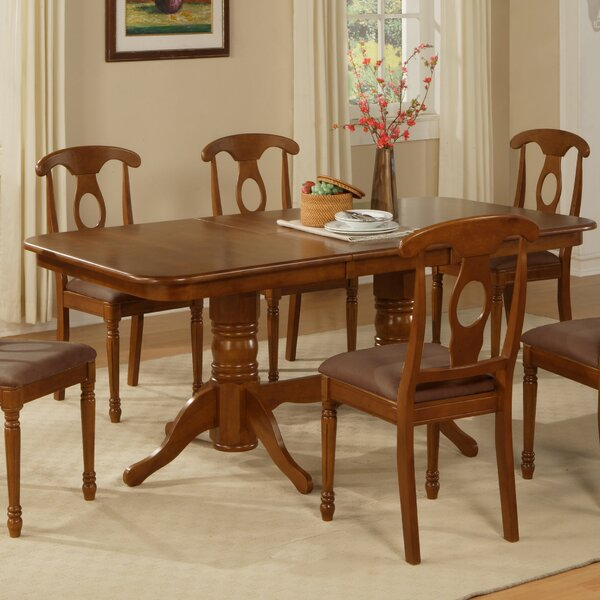 Pillsbury Traditional Solid Wood Dining Table by August Grove