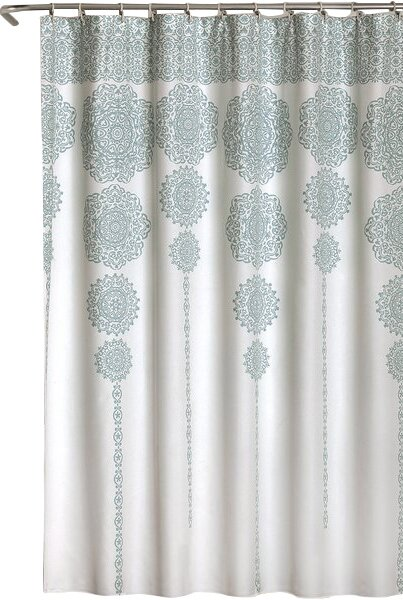 Bremond Shower Curtain By Bungalow Rose.