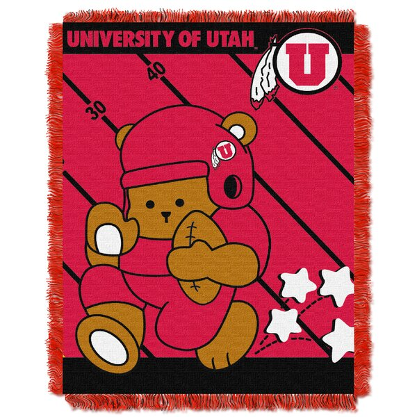 Collegiate Utah Baby Blanket by Northwest Co.