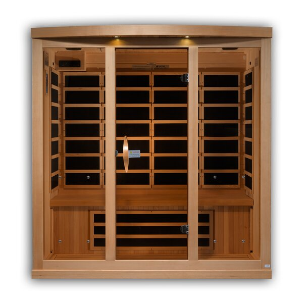 Reserve Edition 4 Person FAR Infrared Sauna by Golden Designs