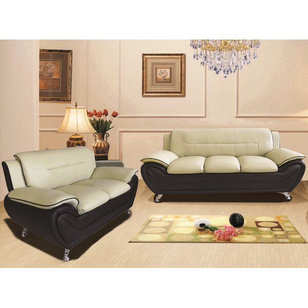 Nataly 2 Piece Living Room Set (Set of 2) by Orren Ellis