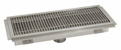Floor Trough Grid Shower Drain by Advance Tabco