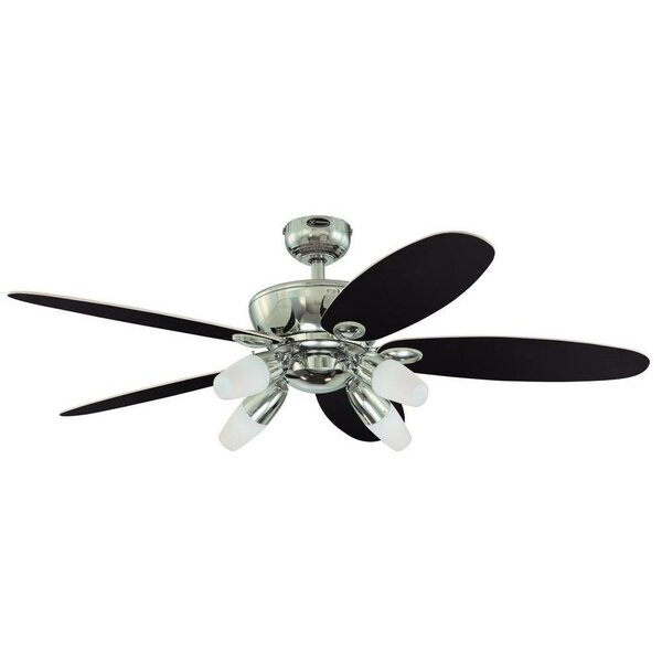 52 Panorama 5 Reversible Blade Ceiling Fan by Westinghouse Lighting