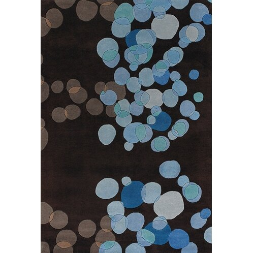 Youngman Blue/Brown Area Rug by Brayden Studio