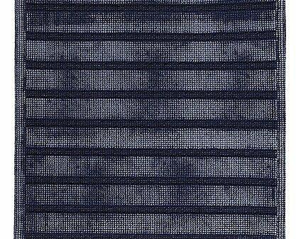 Elsass Denim Rectangle Egyptian-Quality Cotton Non-Slip Bath Rug
