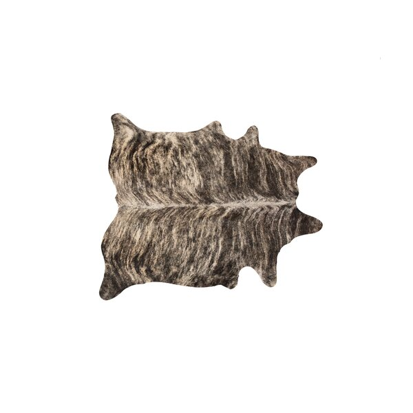 Abhinav Hand-Woven Cowhide Exotic Zebu Area Rug  by 17 Stories
