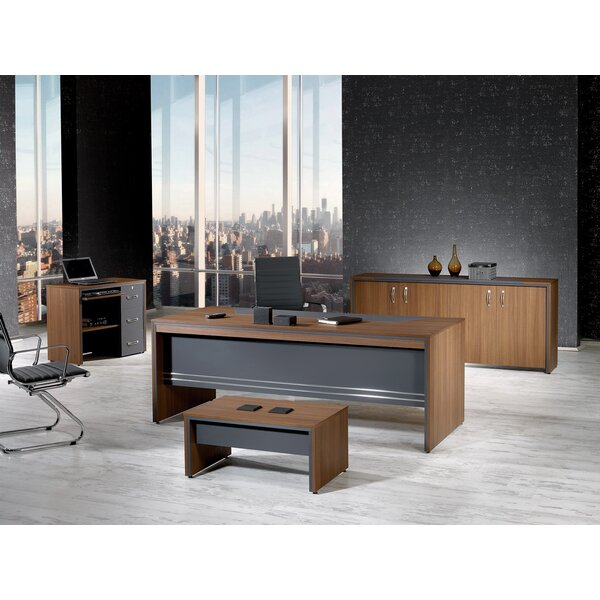 Cristina Modern 4 Piece Desk Office Suite by Corrigan Studio