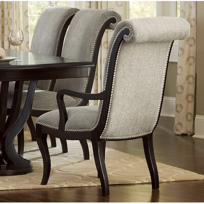 Baypoint Upholstered Dining Armchair Canora Grey
