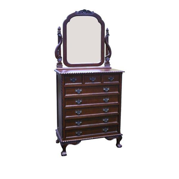 Felder 8 Drawer Dresser with Mirror by Astoria Grand
