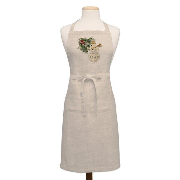 Wintertime Apron by The Holiday Aisle