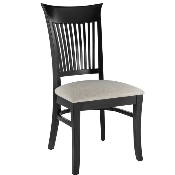 Brookwood Solid Wood Dining Chair (Set of 2) by Canora Grey