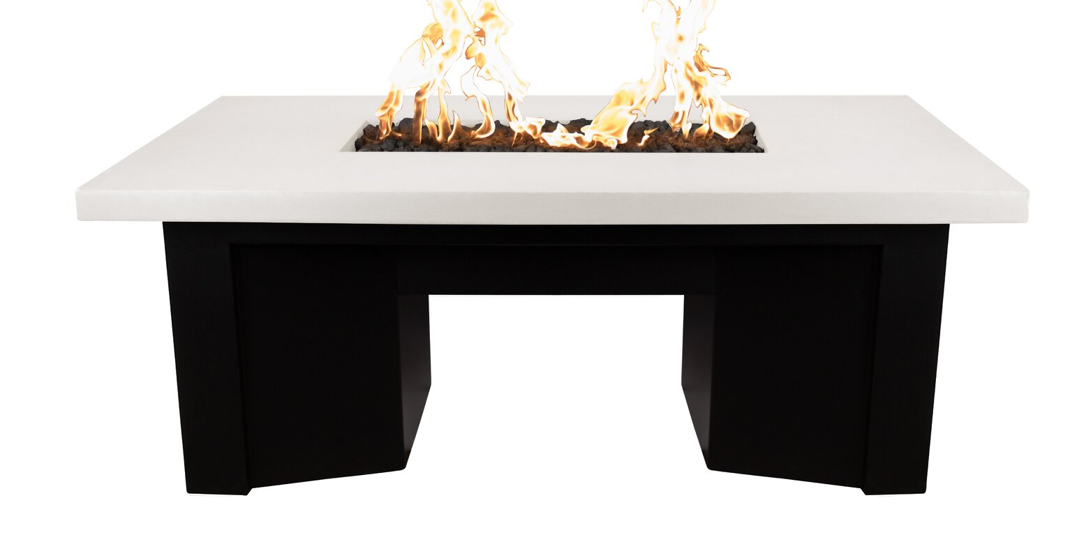 The outdoor plus saleen concrete propane fire pit table reviews saleen concrete propane fire pit table geotapseo Images