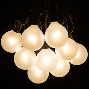 Top Reviews 50-Light Globe String Lights By Hometown Evolution, Inc.