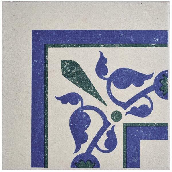 Cementa 7 x 7 Porcelain Field Tile in Blue/Green by EliteTile