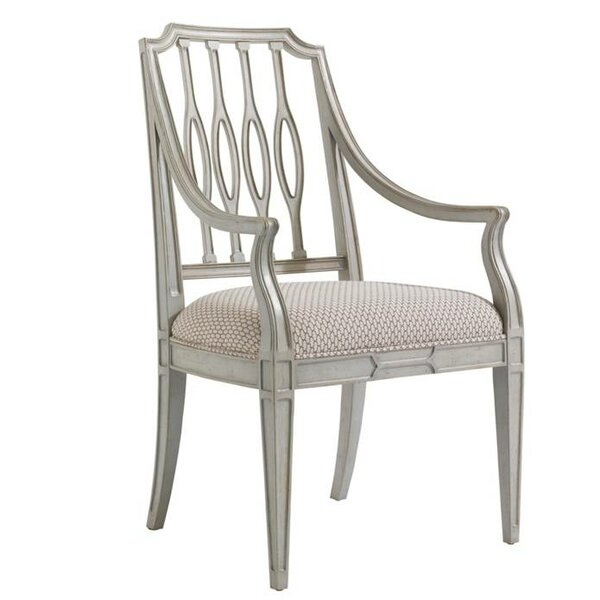 Charleston Regency Upholstered Dining Chair by Sta
