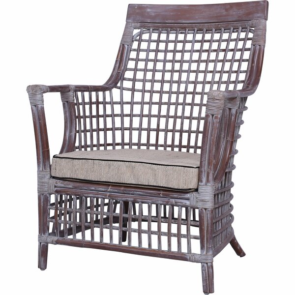 Starks Patio Chair with Cushions by Rosecliff Heights