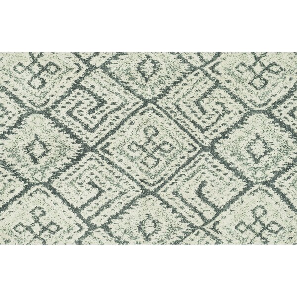 Keiper Teal Area Rug by Alcott Hill