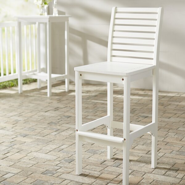 Mahler 48 Patio Bar Stool by Darby Home Co