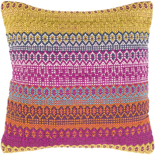 Talara Handmade Cotton Throw Pillow by Surya