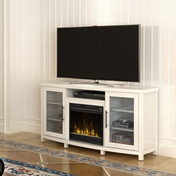 Whitt 54 TV Stand with Fireplace by Mercury Row