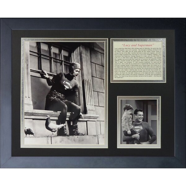 I Love Lucy Framed Photographic Print by Legends Never Die