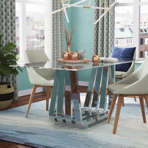 Fredrick Dining Table by Wade Logan