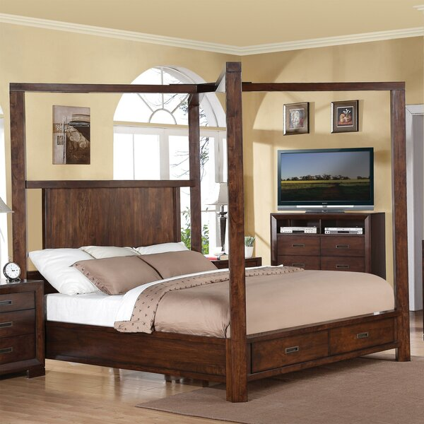 Otselic Bella Storage Standard Bed by Three Posts