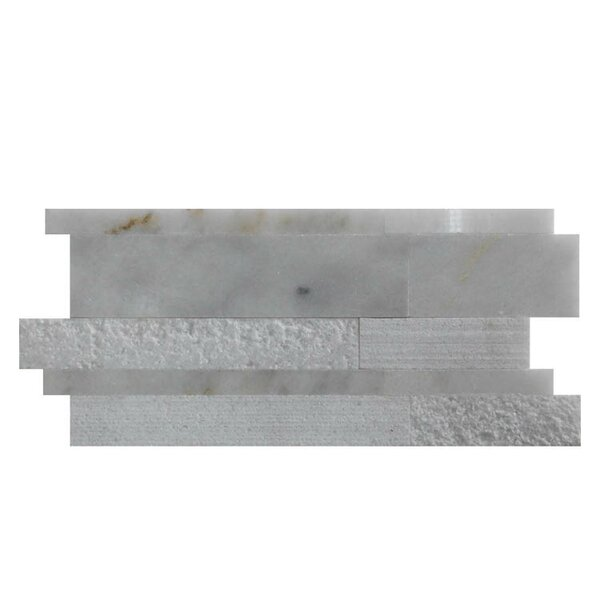 Various Natural Stone Mosaic Tile in Lusso Carrara by QDI Surfaces
