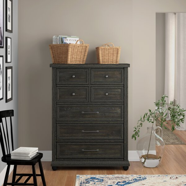 Aberdash 7 Drawer Chest by Three Posts