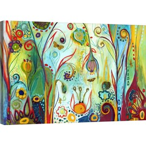 'Possibilities' Painting Print on Gallery Wrapped Canvas by Zipcode Design