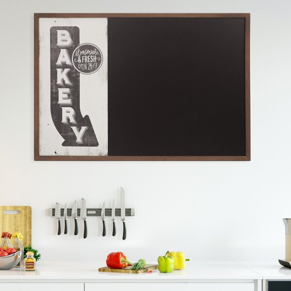 Vintage Bakery Sign Wall Mounted Chalkboard, 26 x