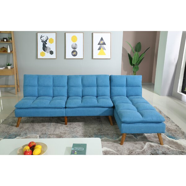 Laseter 98-inch Reversible Sectional by George Oliver George Oliver