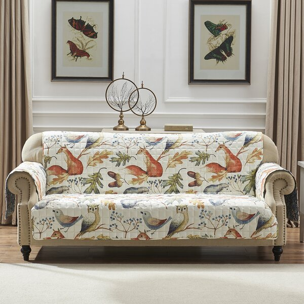 Mervin Willow T-Cushion Sofa Slipcover By August Grove