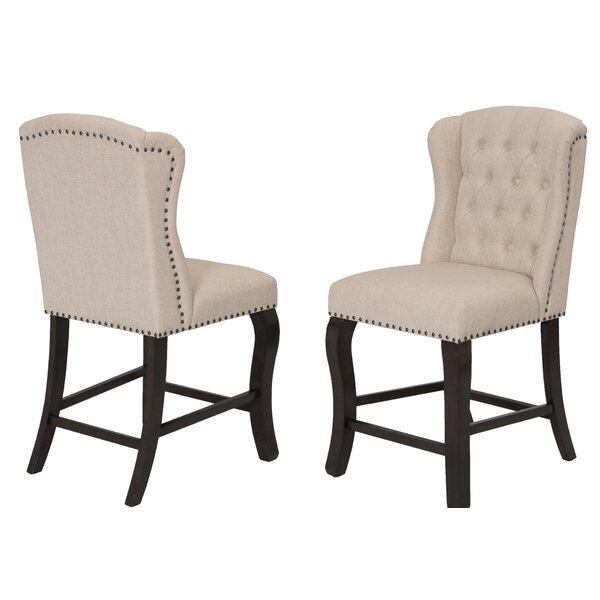 Whittlesey Tuffed Upholstered Wingback Side Chair (Set Of 2) By Alcott Hill