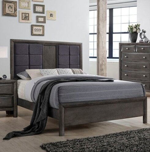 Anja Standard Bed by Wrought Studio