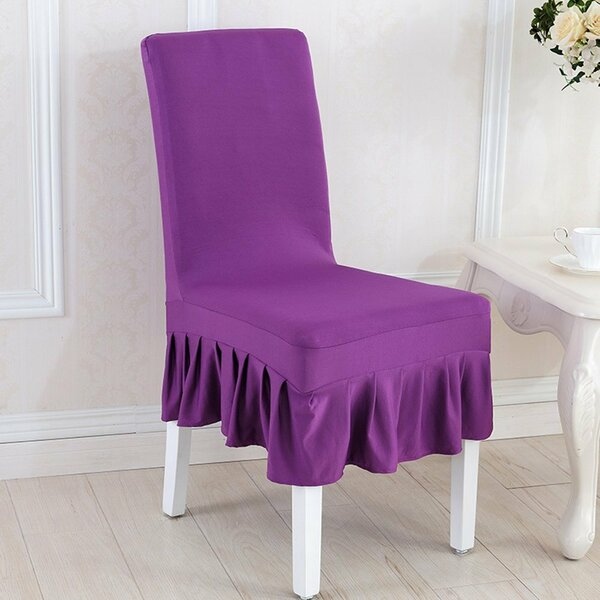 Elegant Box Cushion Dining Chair Slipcover By House Of Hampton